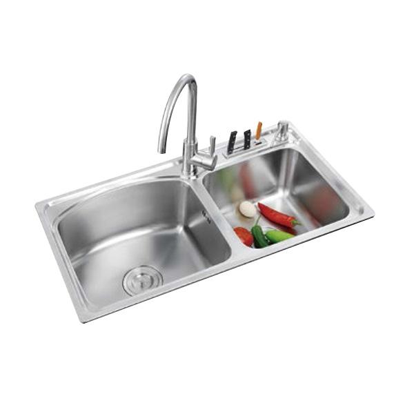 厨房不锈钢水槽是单槽好还是双槽好?