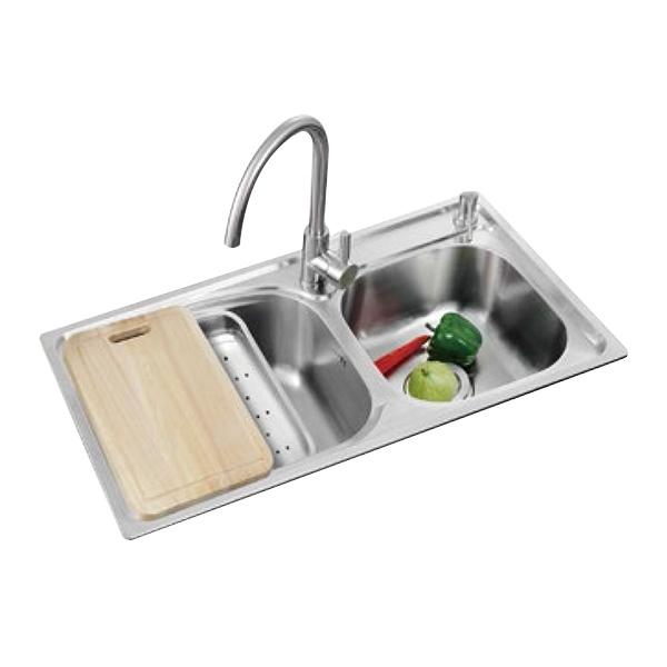 厨房不锈钢水槽让厨房生活更方便、更轻松